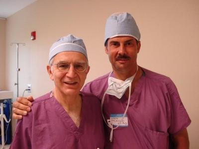 Dr Foad Nahai and dr Jerzy Kolasiński.