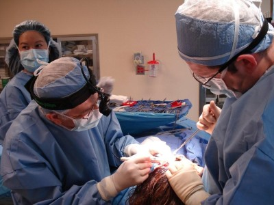 Master during an operation.