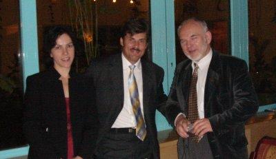 Małgorzata Kolenda, M.D., Jerzy Kolasiński, M.D., and Kazimierz Cieślik during the Congress in Wisła