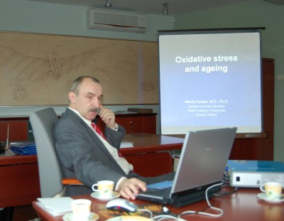 prof. Maciej Kurpisz's lecture turned participants on