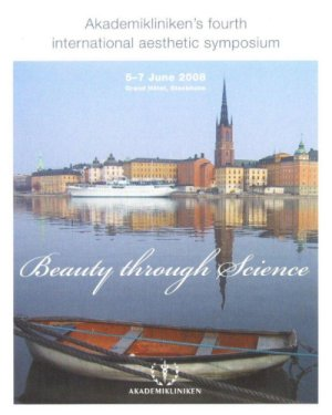 Beauty Through Science Stockholm – June 5-7, 2008