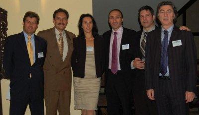 Lecturers (starting from the left): Dr. Jerzy Kolasiński, Dr. David Perez-Meza, Dr. Małgorzata Kolenda, Dr. Bessam Farjo, Dr. Ronald Shapiro, Dr. Vincenzo Gambino.